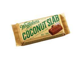 Whittakers Coconut Slab
