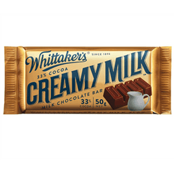 WHITTAKERS CREAMY MILK SLAB BOX