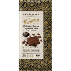 WHITTAKERS WELLINGTON ROASTED SUPREME COFFEE