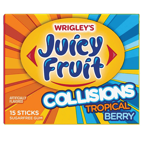 JUICY FRUIT COLLISIONS TROPICAL BERRY