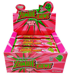 ZOMBIE CHEWS STRAWBERRY BOX