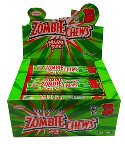 ZOMBIE CHEWS SOUR APPLE BOX