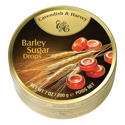Cavendish & Harvey Barley Sugar Drops Tin Bulk