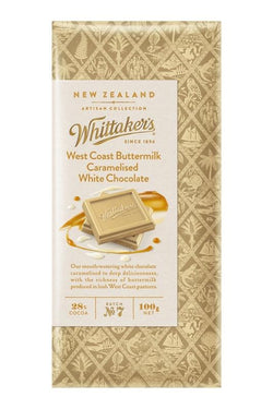 WHITTAKERS  BUTTERMILK CARAMELISED WHITE CHOCOLATE BOX