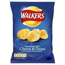WALKERS CHEESE AND ONION 32G