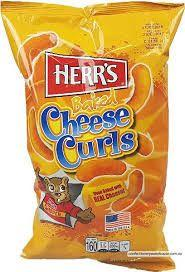 HERRS CHEESE CURLS