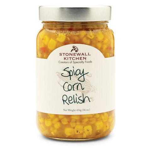 STONEWALL SPICY CORN RELISH 454G