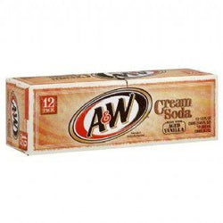 A&W CREAM SODA CARTON