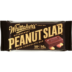 WHITTAKERS DARK CHOCOLATE PEANUT SLAB BOX