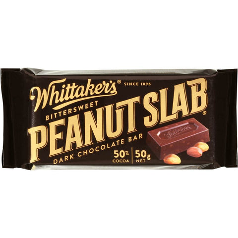 WHITTAKERS DARK CHOCOLATE PEANUT SLAB
