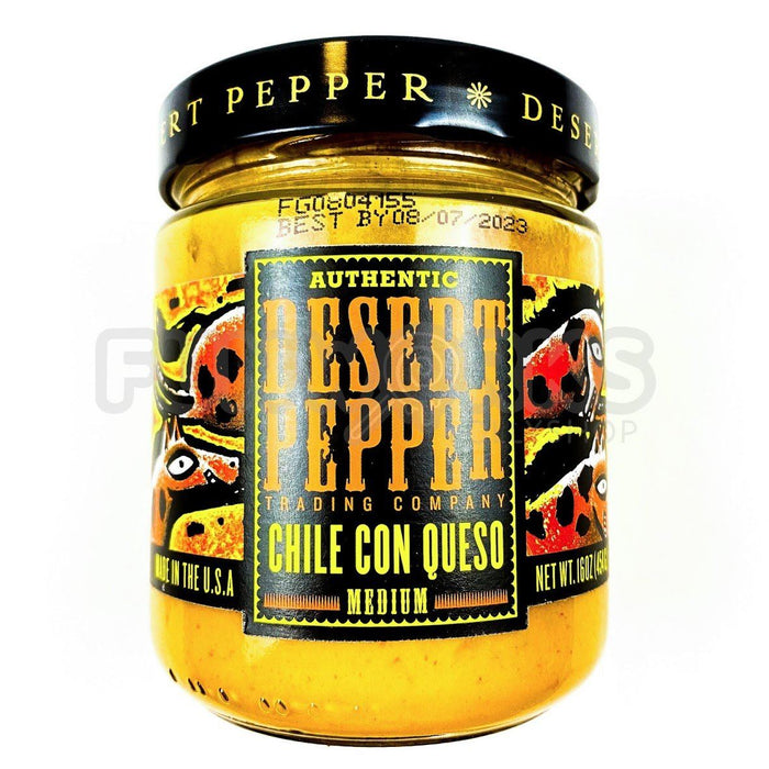 Desert Pepper Chilli Con Queso 454g