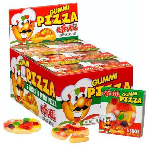 SMALL GUMMI PIZZA TRAYS BOX