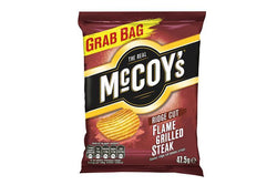 MCCOYS FLAME GRILLED STEAK 47G