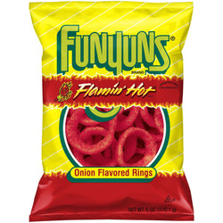 FUNYUNS FLAMIN' HOT ONION RINGS