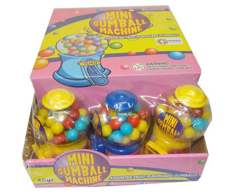 MINI GUMBALL MACHINE BOX