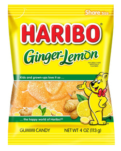 Haribo Ginger Lemon 113g Bulk