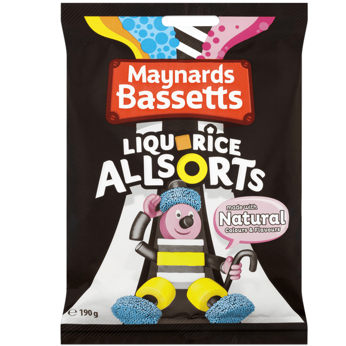 Licorice Allsorts Bag 190g