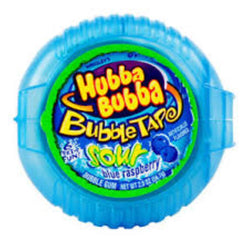 HUBBA BUBBA SOUR BLUE RASPBERRY TAPE