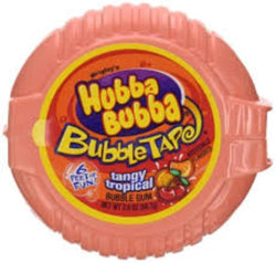 HUBBA BUBBA TANGY TROPICAL TAPE