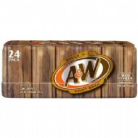 A&W Root Beer 12 Pack Carton