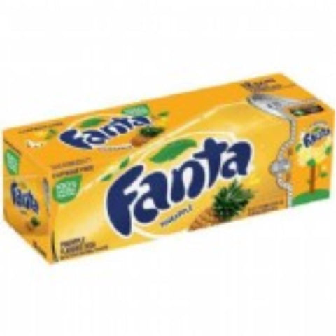 FANTA PINEAPPLE 12 PACK
