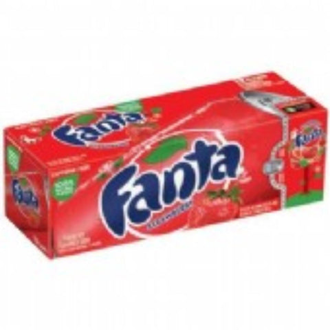Fanta Strawberry 12 Pack Carton
