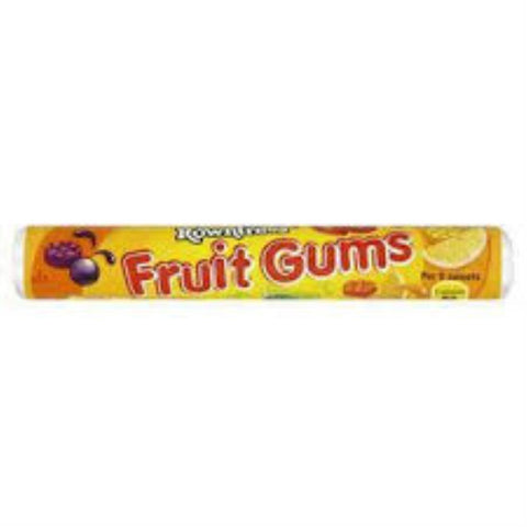 FRUIT GUMS ROLLS