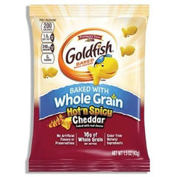 GOLDFISH HOT N SPICY 43G