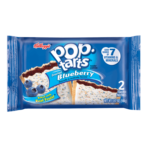 POPTARTS FROSTED BLUEBERRY 2 PACK
