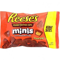 REESES MINIS UNWRAPPED KING SIZE