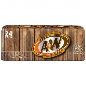 A&W ROOT BEER 12 PK