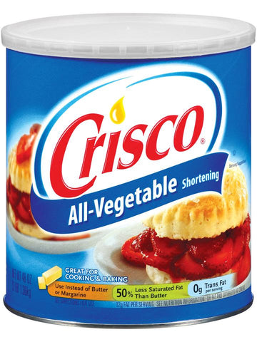 Crisco Vegetable Shortening