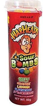 WARHEADS SOUR BOMBS