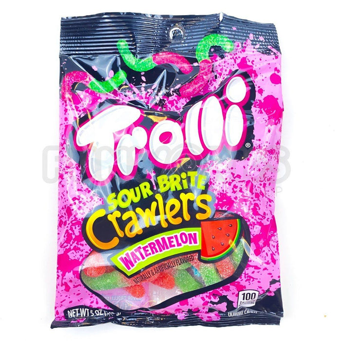 Trolli Sour Brite Crawlers Watermelon 142g