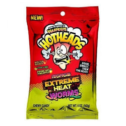 WARHEADS HOTHEAD TROPICAL HEAT WORMS 141G