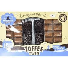 Walkers Original Toffee Twin Hammer Pack 200g