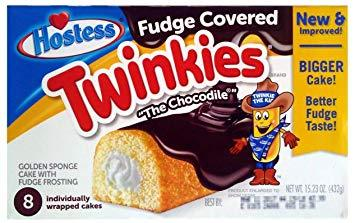 Hostess Fudge Covered Twinkie Box
