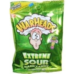 WARHEADS EXTREME SOUR CANDY BAG