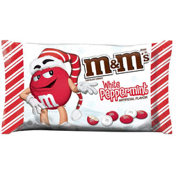 M&M'S WHITE PEPPERMINT