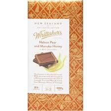 WHITTAKERS PEAR AND HONEY