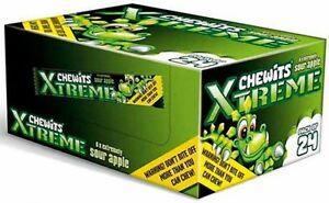 Chewits Xtremes Sour Apple Bulk