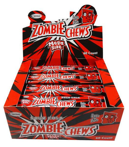 Zombie Chews Sour Cola Large Bulk