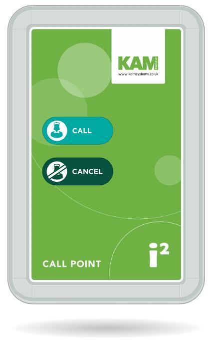 i2 Wireless Nursecall System Call Point