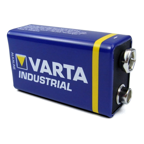 9V VARTA industrial battery. Nurse Call Shop