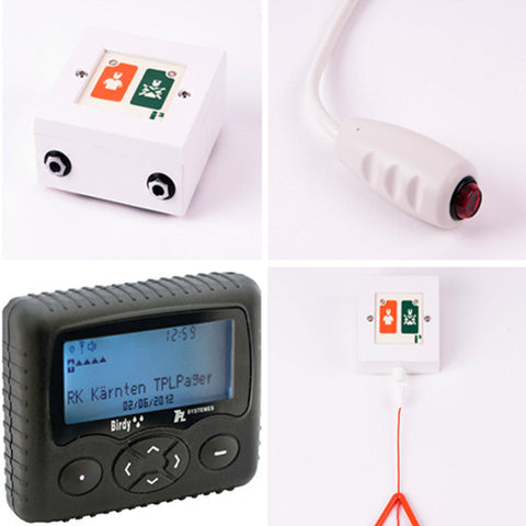 i2 Wireless Nursecall Pager Kit - Nursecall Shop