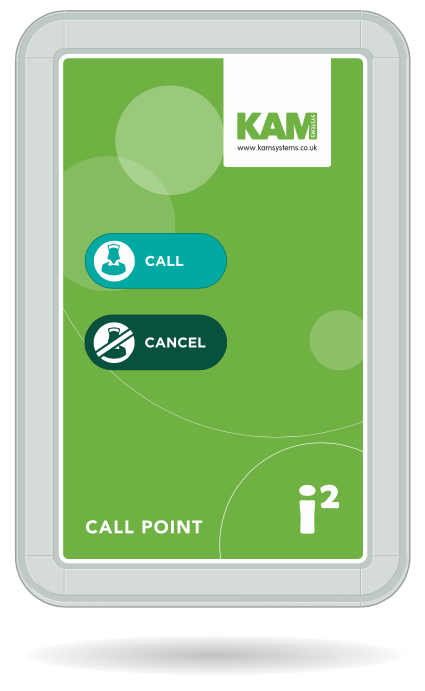 i2+ Wireless Call Point - Nursecall Shop
