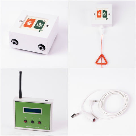 i2 Wireless Nursecall Display Kit - Nursecall Shop