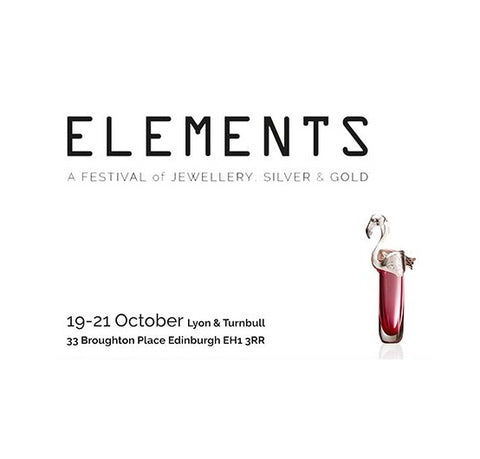Elements Edinburgh 19-21 October 2018