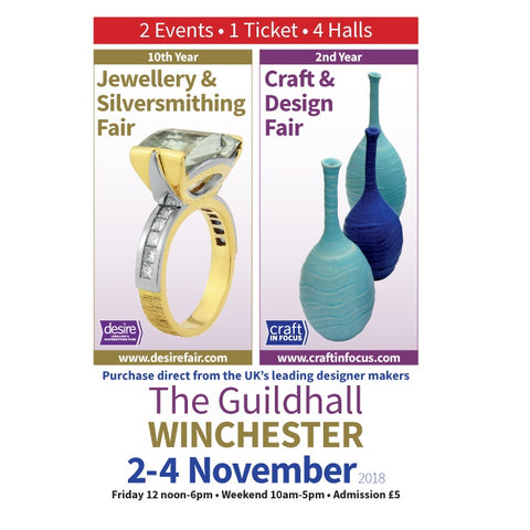 Desire Jewellery & Silversmithing 2-4 November 2018