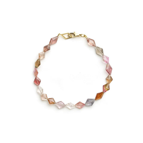 Kite Shaped Tourmaline Bracelet